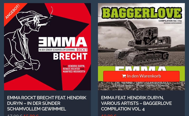 EMMA CDs bei SUNROCK
